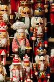 Quebras-nozes - estatuetas do Natal imagem de stock royalty free