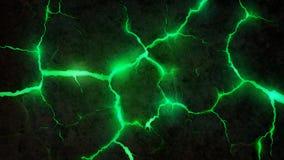 Quebras verdes Fundo Imagem de Stock