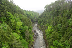 Quechee Gorge, Vermont, USA Royalty Free Stock Image