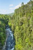 Quechee River & Gorge Stock Photo