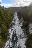 Quechee River  - Vermont Royalty Free Stock Photos