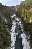 Quechee River  - Vermont Royalty Free Stock Images