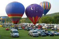 Quechee Vermont Balloon Festival Royalty Free Stock Images