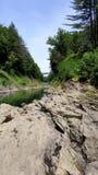 Quechee Vermont wąwóz fotografia royalty free
