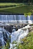 Quechee wąwóz, Quechee wioska, miasteczko Hartford, Windsor okręg administracyjny, Vermont, Stany Zjednoczone zdjęcia royalty free