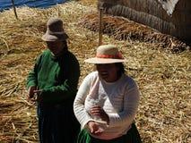 Quechua женщины, Puno, Перу Стоковое фото RF
