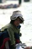 Quechua boy, Cuzco Royalty Free Stock Photos