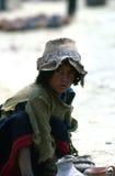 Quechua boy, Cuzco Royalty Free Stock Photos