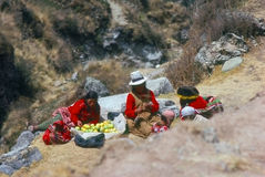Quechua Indians, Peru Stock Photo
