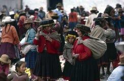 Quechua Indians, Peru Stock Photography