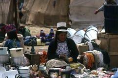 Quechua Indians, Peru Stock Image