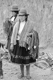 Quechua kvinna Royaltyfri Foto