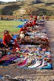 Quechua kvinnor Royaltyfria Bilder
