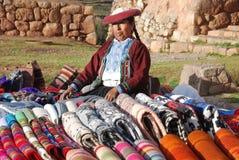 Quechua kvinnor Arkivfoto