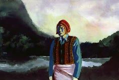 Quechua man Stock Images
