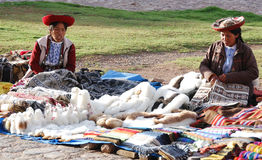 Quechua woman Royalty Free Stock Images