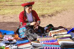 Quechua women Royalty Free Stock Photos