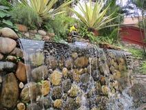 Queda bonita da água Fotografia de Stock