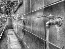 Queda da água Fotos de Stock Royalty Free