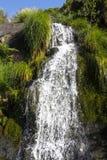 Queda da água da cascata Fotografia de Stock