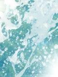 Queda da água das gotas Imagem de Stock Royalty Free