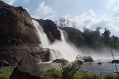 Queda da água de Athirappilly Imagem de Stock