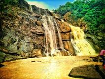 Queda da água de Hundaru em ranchi Jharkhand Imagens de Stock
