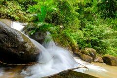 Queda da água de Tailândia Imagem de Stock
