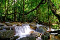 Queda da água de Tailândia Foto de Stock