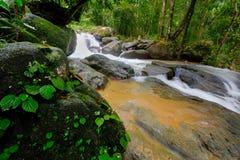 Queda da água de Tailândia Imagem de Stock Royalty Free