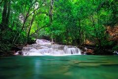 Queda da água em Tailândia Fotografia de Stock