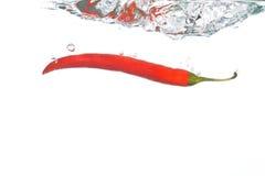 Queda da pimenta de pimentão Foto de Stock