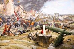 Queda de Constantinople foto de stock royalty free