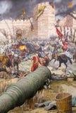 Queda de Constantinople fotografia de stock royalty free