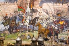 Queda de Constantinople fotos de stock royalty free