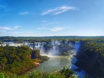 Queda de Iguazu Imagem de Stock Royalty Free