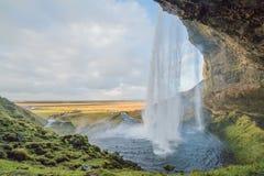 Queda de Islândia Imagens de Stock Royalty Free