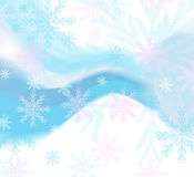 Queda de neve Foto de Stock