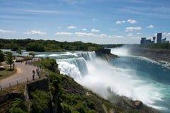 Queda de Niagara imagem de stock