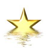 Queda de uma estrela ilustração stock