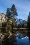 Queda de Yosemite no inverno Imagem de Stock Royalty Free