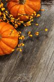 Queda Dia das Bruxas Autumn Pumpkin Background fotos de stock
