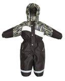 Queda do snowsuit das crianças Fotografia de Stock