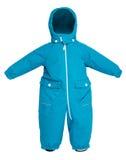 Queda do snowsuit das crianças Fotos de Stock Royalty Free