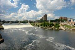 Queda do St. Anthony em Minnesota Fotos de Stock Royalty Free