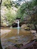 Queda dos mais baixos montes, parque estadual dos montes de Hocking fotos de stock royalty free