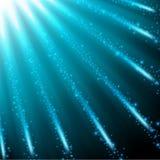 Queda efervescente azul do fundo do céu Fotografia de Stock Royalty Free