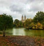 Queda em Central Park imagens de stock royalty free