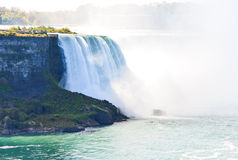 Queda em ferradura, Niagara Falls, Ontário, Canadá Imagens de Stock Royalty Free