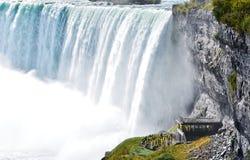 Queda em ferradura, Niagara Falls, Ontário, Canadá Fotografia de Stock